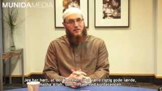 Hilsen fra Dr. Muhammad Salah - Qur'ān Konference 2013 - HD