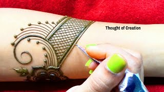 Bridal Mehndi Design Full Hand |Thought of Creation