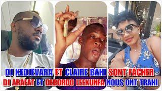 🔴💥 Claire Bahi et Dj Kedjevara clash Dj Arafat et Debordo Leekunfa