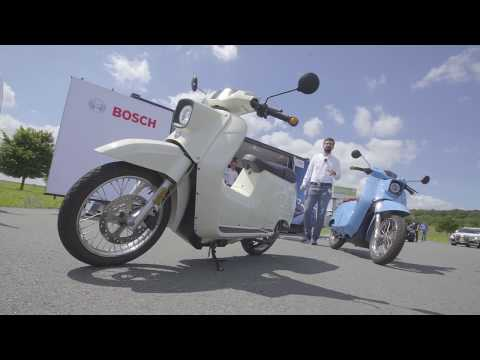 Bosch Mobility Experience: The future of urban mobility