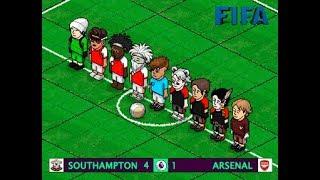 | Southampton 4 - 1 Arsenal | Jornda 6 | FIFA v8