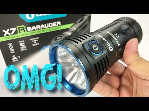 Xxx Mp4 The Absolutely Insane 12000 Lumens Olight X7R Marauder CREE HXP LED Flashlight Review 3gp Sex