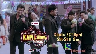 The Kapil Sharma Show(new show) Episode-1 with SRK on 23-Aprl only on sony tv at 9 pm