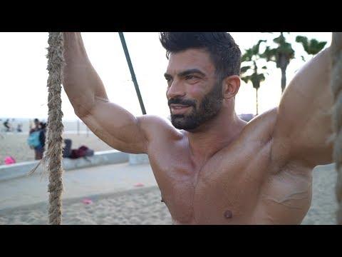 Sergi Constance Mr. Olympia Vlog 8 days out Entrenamiento / workout + photoshoot