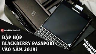 Đập hộp BlackBerry Passport New Fullbox vào cuối 2019? Hiếm ra phết