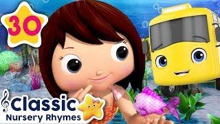 Underwater Baby Songs! | Wheels On The Bus | Baby Shark | Little Mermaid +More | Little Baby Bum