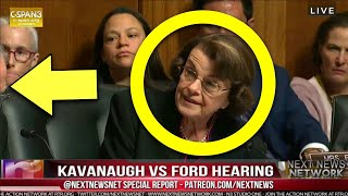 BOOM! Feinstein on the Ropes! REACTS After Cruz ROASTS Her For Exposing Ford
