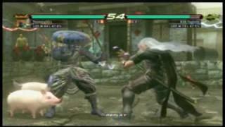 tekken 6 dead guy yoshimitsu vs sephiroth lars online match