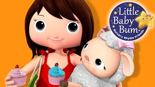 Mary Had A Little Lamb | Part 3 | Nursery Rhymes | By LittleBabyBum!