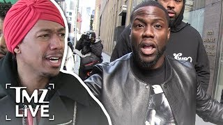 Kevin Hart Defended By Nick Cannon | TMZ Live