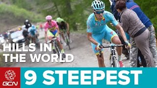 9 Steepest Hills In The World