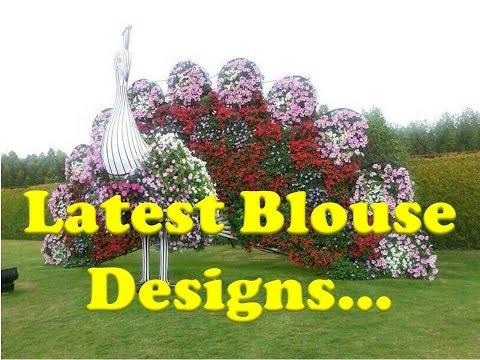Latest Designs of Sari Blouse - Part 3 - Indian Saree Blouse neck Designs
