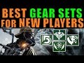 The Division: BEST GEAR SETS for NEW PLAYERS! | Patch 1.8
