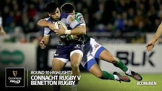 Round 10 Highlights: Connacht Rugby v Benetton Treviso | 2016/17 season