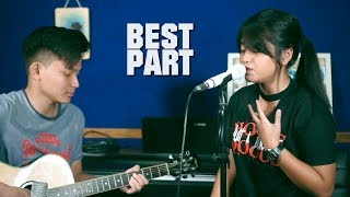 Best Part - Daniel Caesar ft. H.E.R (live Cover) by Hanin Dhiya