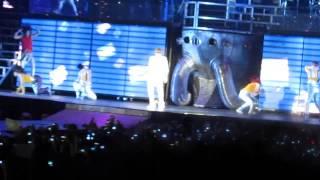 Opening & All Around The World - Justin Bieber Believe Tour @Belgium
