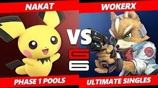Genesis 6 SSBU - NAKAT (Pichu) VS BTLC | WokerX (Fox) Smash Ultimate Pools