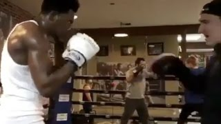 "Desiigner ""Shows He Still Got Hands Gets In The Boxing Ring Goes Beastmode"""