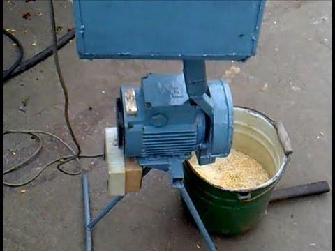 Зернодробилка сделанная своими руками - Buxrs Videos - Watch YouTube in Pakistan Without Proxy