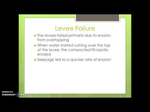 SS Presentation - Hurricane Katrina Levees