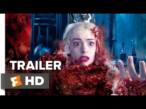 Alice Through the Looking Glass Official Trailer 2 2016 Mia Wasikowska Johnny Depp Movie HD
