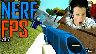 NERF FPS 2017 (Roblox Gameplay)