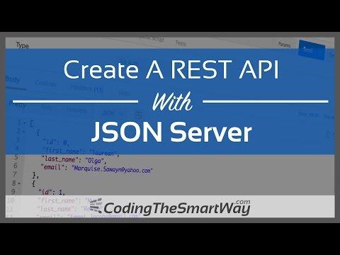 Create A REST API With JSON Server