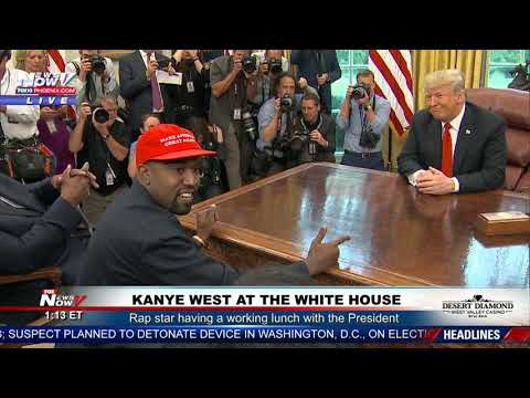 Xxx Mp4 KANYE WEST Goes On A RANT At The White House With President Trump 3gp Sex