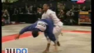 JUDO 1999 World Championships: In-Chul Cho (KOR) - Nuno Delgado (POR)