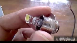 bagaimana membuat BOHLAM menjadi Lampu LED mudah dan murah