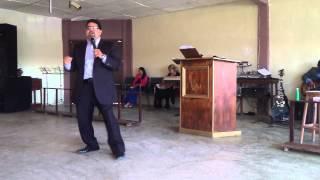 Porque se detiene mi bendicion - Apostol Desxter Bustos - Predicacion Enero 25 2015