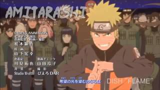 Ending 29 naruto shippuden Full SONG FLAME UP