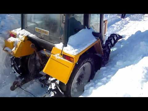 Iarna part II Renault Deutz & Bobcat