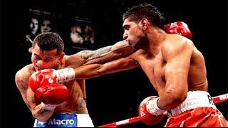 Amir Khan vs Marcos Maidana - Highlights (Speed vs. Power!)