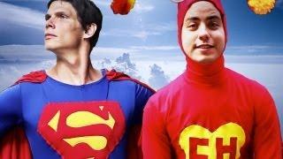 SUPER-HOMEM VS CHAPOLIN - Grandes Raps ♫