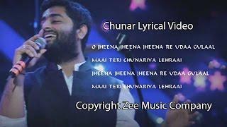 CHUNAR (ABCD 2) FULL SONG WITH LYRICS - ARIJIT SINGH - VARUN DHAWAN & SHRADDA KAPOOR