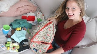 WHAT'S IN MY *new* DIAPER BAG?!
