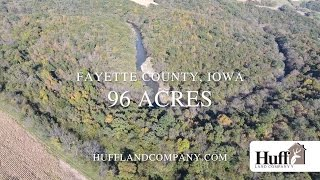 96 Acres for Sale in Fayette County, Iowa