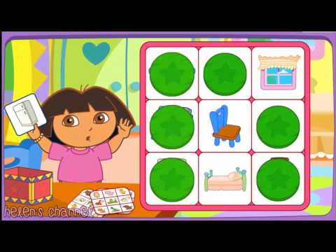 DORA THE EXPLORER Dora s Say it Two Ways Bingo Dora Online Game HD Game for Children