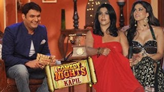 Sunny Leone & Ekta Kapoor on Comedy Nights with Kapil 23rd March 2014