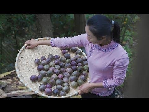 "Eat a lot of food Chinese cuisine made with passion fruit ""� �红百香果柠檬鸡爪 ""我是这样做的? � �们说还可以做成什么? 野小妹"