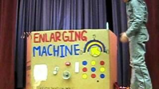 The Incredible Enlarging Machine - Fun Family Skit