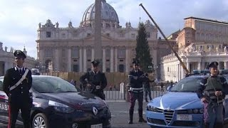 Italy ramps up security after ISIS threatens rome