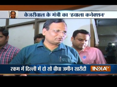 More trouble for Delhi Health Minister Satyendra Jain under I T scanner over hawala transactions