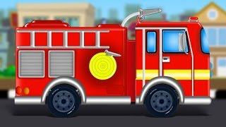 Fire Truck Formation And Uses | video for children