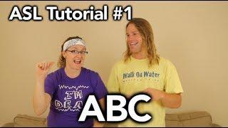 ABC ( finger spell ) - #1 American Sign Language Tutorial