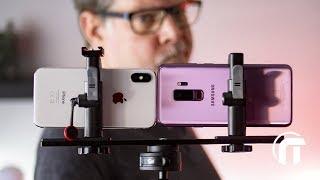 iPhone X VS Galaxy S9 plus : le duel photo !