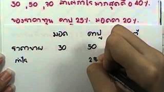 SMART-I คณิต 11: กาแฟ (โจทย์1-2)
