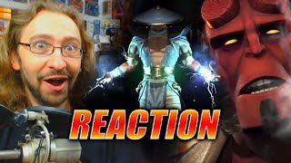 MAX REACTS: F**king HELLBOY!? Injustice 2 - Fighter Pack 2 Reveal