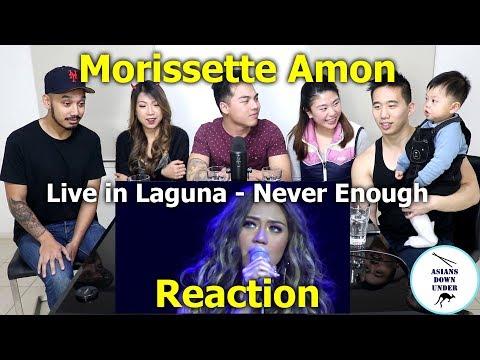 Morissette Live in Laguna - Never Enough | Reaction - Australian Asians